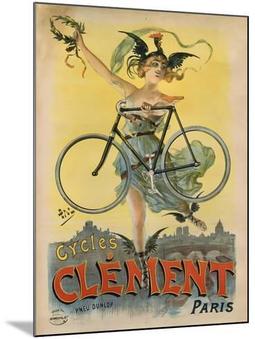 Cycles Clement Paris-Marcus Jules-Mounted Giclee Print