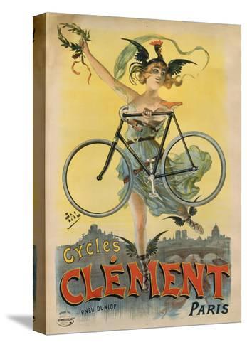 Cycles Clement Paris-Marcus Jules-Stretched Canvas Print