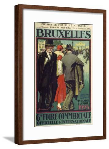 Bruxelles-Marcus Jules-Framed Art Print