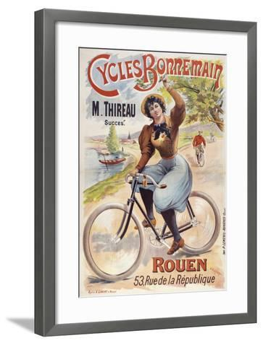Cycles Bonnemain-Marcus Jules-Framed Art Print