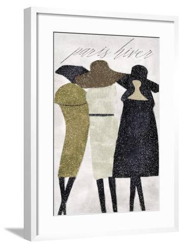 Winter in Paris-Mindy Sommers-Framed Art Print