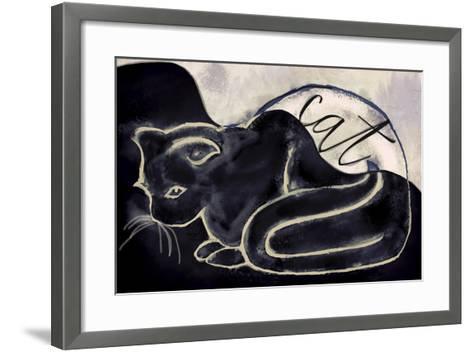 Cat-Mindy Sommers-Framed Art Print