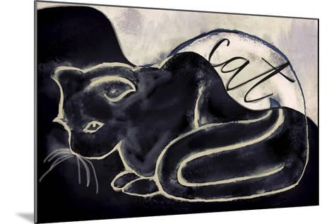 Cat-Mindy Sommers-Mounted Giclee Print