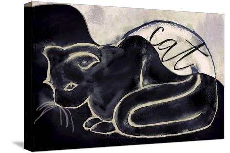 Cat-Mindy Sommers-Stretched Canvas Print