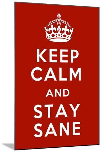 Keep Calm IV-Mindy Sommers-Mounted Giclee Print