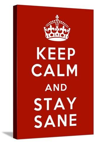 Keep Calm IV-Mindy Sommers-Stretched Canvas Print