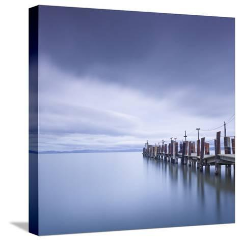China Camp Pier-Moises Levy-Stretched Canvas Print