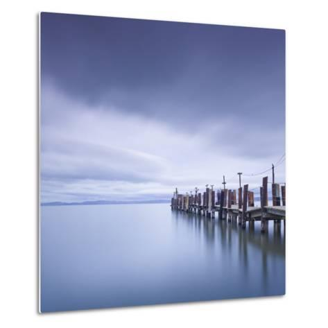China Camp Pier-Moises Levy-Metal Print