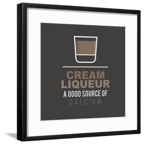 Cream Liqueur- mip1980-Framed Art Print