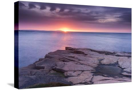 Granite Markings-Michael Blanchette-Stretched Canvas Print