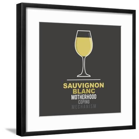 Sauvignon Blanc- mip1980-Framed Art Print