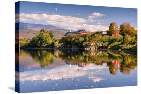 Pastoral Reflection-Michael Blanchette-Stretched Canvas Print