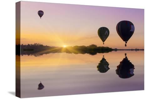 Love is in Air II-Moises Levy-Stretched Canvas Print