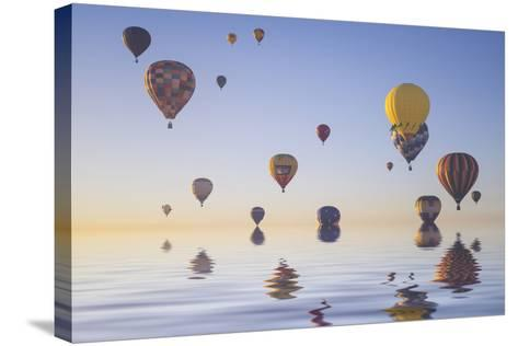 Love is in Air IV-Moises Levy-Stretched Canvas Print