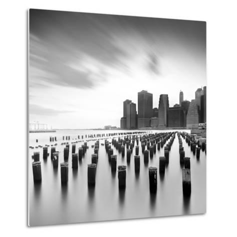 Mahattan Skyline 2-Moises Levy-Metal Print