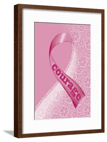 Pink Courage II-Olga And Alexey Drozdov-Framed Art Print