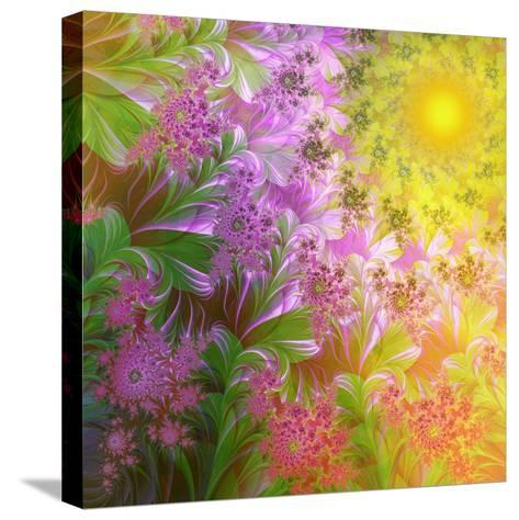 A Child's View-Mindy Sommers-Stretched Canvas Print