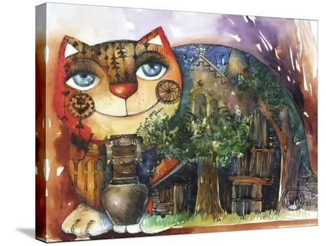 Alpes Cat-Oxana Zaika-Stretched Canvas Print