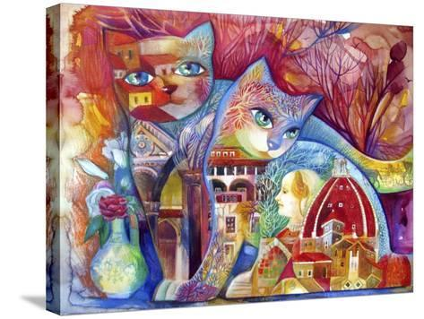 Florence Cats-Oxana Zaika-Stretched Canvas Print