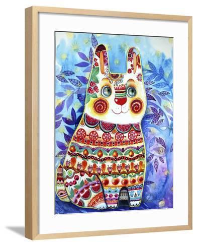 Rabbit-Oxana Zaika-Framed Art Print