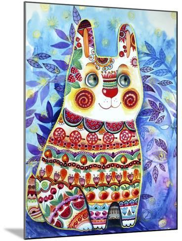 Rabbit-Oxana Zaika-Mounted Giclee Print