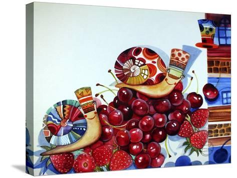 Hedgehogs-Oxana Zaika-Stretched Canvas Print