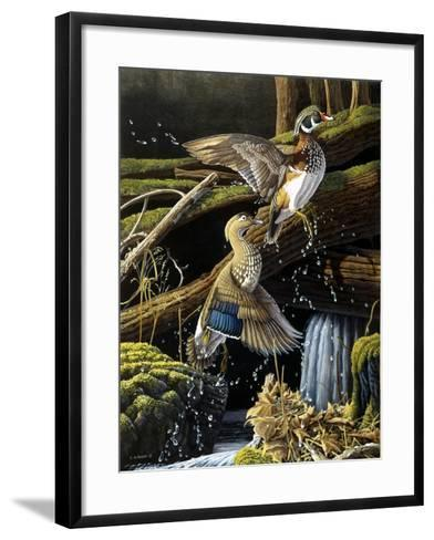 Hidden Pool-Michael Budden-Framed Art Print