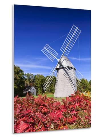 Old Higgins Farm Windmill-Michael Blanchette-Metal Print