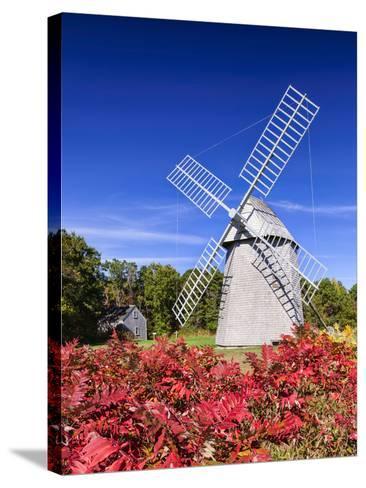 Old Higgins Farm Windmill-Michael Blanchette-Stretched Canvas Print