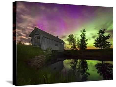 The Color of Night-Michael Blanchette-Stretched Canvas Print