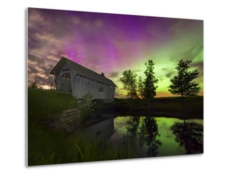 The Color of Night-Michael Blanchette-Metal Print