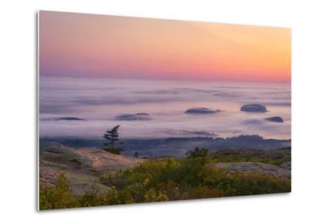 Islands in the Fog-Michael Blanchette-Metal Print