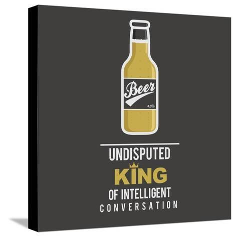 Beer 1.0- mip1980-Stretched Canvas Print