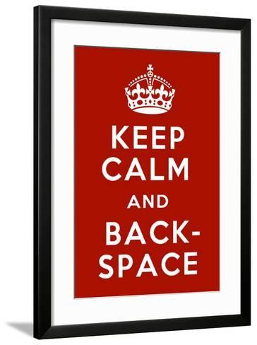 Keep Calm III-Mindy Sommers-Framed Art Print