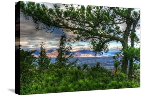 Mountain Views-Robert Goldwitz-Stretched Canvas Print
