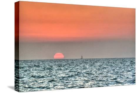 Key West Sunset X-Robert Goldwitz-Stretched Canvas Print