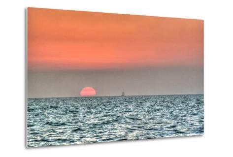 Key West Sunset X-Robert Goldwitz-Metal Print