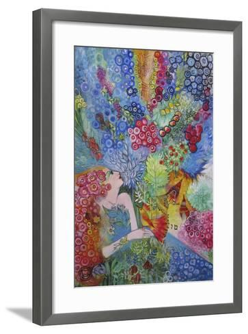 Tu B'shevat-Oxana Zaika-Framed Art Print