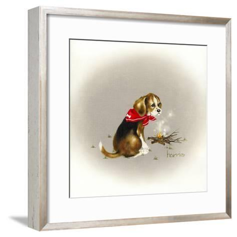 Beagle Scout-Peggy Harris-Framed Art Print