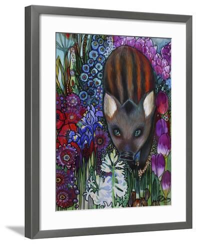 Wild Boar-Oxana Zaika-Framed Art Print