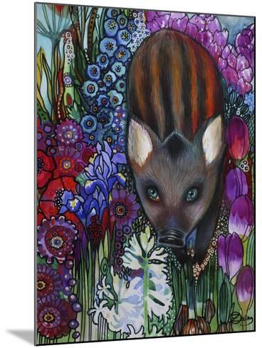 Wild Boar-Oxana Zaika-Mounted Giclee Print