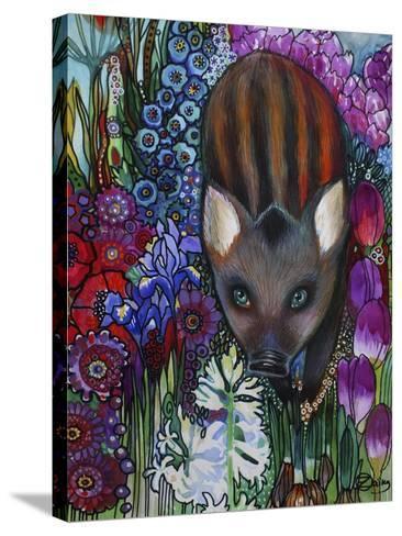 Wild Boar-Oxana Zaika-Stretched Canvas Print