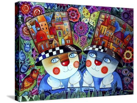 Twins-Oxana Zaika-Stretched Canvas Print