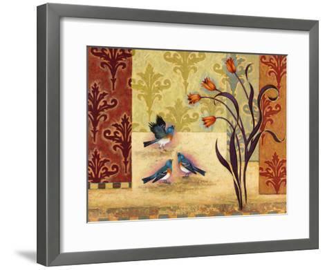 Garden Party-Rachel Paxton-Framed Art Print