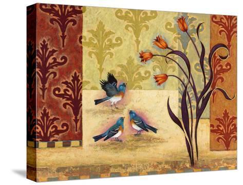 Garden Party-Rachel Paxton-Stretched Canvas Print