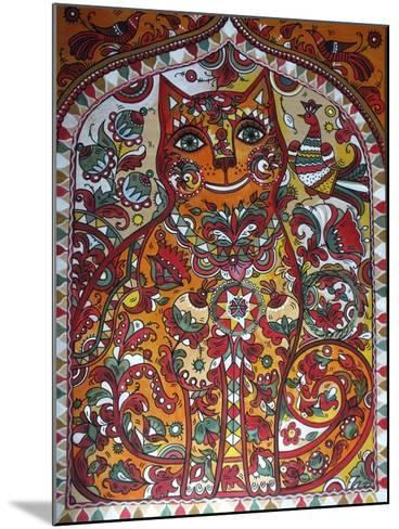 Russian Red Cat-Oxana Zaika-Mounted Giclee Print