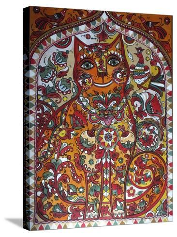 Russian Red Cat-Oxana Zaika-Stretched Canvas Print