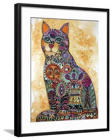 Sun Cat-Oxana Zaika-Framed Art Print