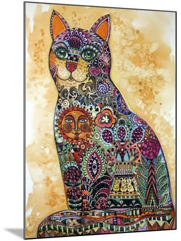 Sun Cat-Oxana Zaika-Mounted Giclee Print