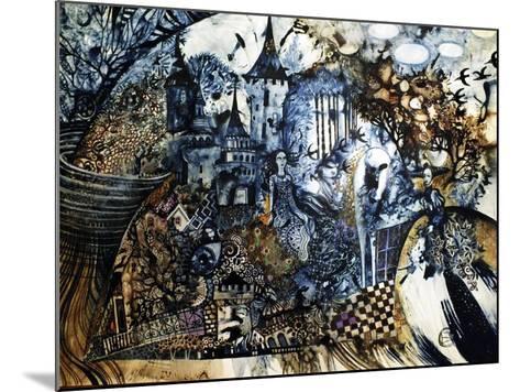 Indigo Fish-Oxana Zaika-Mounted Giclee Print